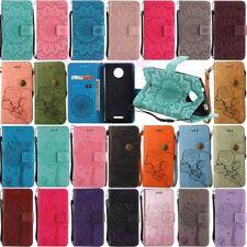 For Motorola Moto E4 G4 G5 Plus Card Holder Wallet Stand Flip Leather Case Cover