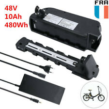 E-Bike Batterie 48V 10Ah 480Wh Vélo électrique Bicyclette Kit de conversion EU