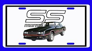 NEW Chevy Monte SS License Plate!! FREE SHIPPING!! Many different available!