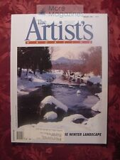 ARTISTS Magazine February 1995 Ronal Parlin Nikki Fay Bill Jonas Arne Westerman