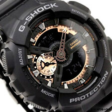 CASIO G-SHOCK Rose Gold Black Watch GShock GA-110RG-1A