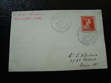 BELGIQUE - carte 3/3/1957 (cy12) belgium