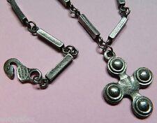 Philippe Audibert collier chaîne croix bijou signé créateur Paris necklace