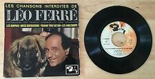 RARE FRENCH EP LEO FERRE THANK YOU SATAN