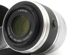 NIKON VR 30-110mm f3.8-5.6 lens w. hood 1 V1, V2, V3, J1, J2, J3, J4, J5 *silver