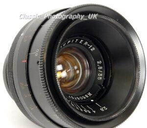Jupiter-12 WIDE-Angle Lens 2.8/35 based on ZEISS Biogon 1:2.8 f=3.5cm - SONY NEX