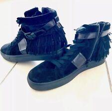 Marke  Kennel   SchmengerMaterial  Leder. Kennel Schmenger, High Top Sneaker,  mit Franzen schwarz Gr. ... 76d1aca484