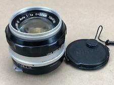 Nikon Nikkor-S Auto 1:1:4 f=50mm PRIME Non-AI Lens Fit Digital SLR/FILM Camera
