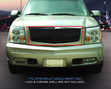 Black Billet Grille Front Vertical Grill For 2002-2006 Cadillac Escalade