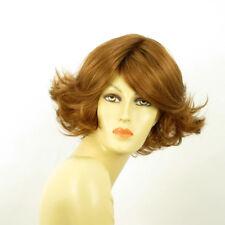 Parrucca donna corta biondo rame : FLORE 27