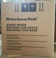 KitchenAid Artisan Design Series - Glass Bowl - Sugar Pearl Silver- KSM155GBSR
