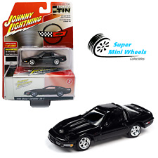 Johnny Lightning 2020 Collector Tin - 1995 Chevrolet Corvette ZR-1 (Black) 1:64