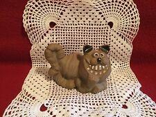 "Vintage Stoneware ""Cheshire Cat"" figurine marked PIC USA"