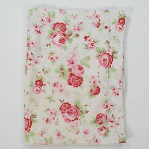 Ikea Rosali Standard Pillow Sham Red Pink Roses Cottage Cath Kidston Floral
