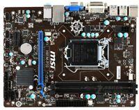 MSI H81M-P33 Motherboard LGA 1150 DDR3 USB3.0 DVI VGA mATX Intel H81 100% work