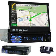"""RÜCKFAHRKAMERA+7"""" AUTORADIO 1 DIN MIT NAVI GPS DVD PLAYER TOUCHSCREEN BLUETOOTH"""