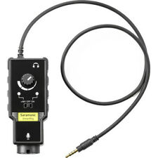 Saramonic SmartRig II XLR Microphone &1/4 Guitar Adaptor & Preamp for Smartphone