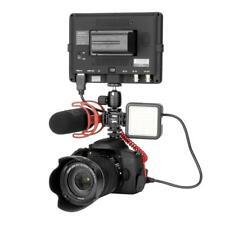 Ulanzi Kamera 3 Hot Shoe Adapterring Mikrofon LED Videoleuchte für Digitalkamera