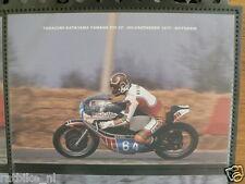 S0625-PHOTO- TAKAZUMI KATAYAMA YAMAHA 250 CC HILVARENBEEK 1977 NO 64 SAROME MOTO