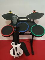Nintendo Wii Guitar Hero Red Octane 95521 805 Drum Set With Pedal works tested
