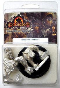 2004 Iron Kingdoms BRIDGE TROLL Metal Figure MINT/SEALED OOP