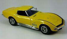 HTF Danbury Mint 1/24 Scale 1969 Chevrolet Corvette ZL-1 Coupe Daytona Yellow