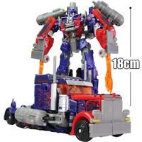 HZX h601 Deformable 7in Action Figure Robot Movie Optimus Prime Kids Child Toy