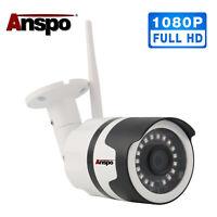 Wireless WiFi IP Camera 1080P Outdoor Home Security Waterproof IR Night Vision