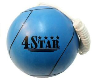 REX 360-BLUE Blue Tether Ball for Play Grounds & Picnics with Rope