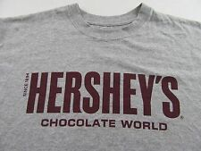 HERSHEYS Chocolate World Since 1894 Souvenir Vacation T Shirt Size L