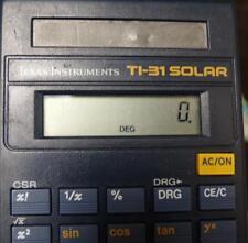 TI-34 Scientific Calculator Solar With Case Texas Instruments