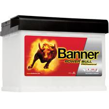 Banner Power Bull PROfessional P6340 63Ah 12V Autobatterie