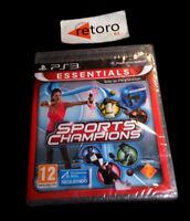 SPORTS CHAMPIONS Sony PS3 PlayStation 3 PAL Español NUEVO Precintado NEW