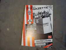 Brentford v Lucchese Nov 1992 Anglo Italian Cup