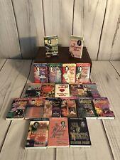 Cassette Tape Audiobook Lot Of 20 Romance Paperback Audiobooks 1990's Excellent!