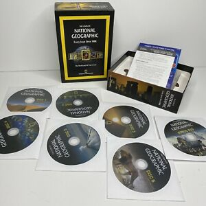 The Complete National Geographic Every Issue 1888-2008 WIN MAC DVD-ROM 7 Discs