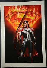 Superman Michael Turner Aspen Art Print