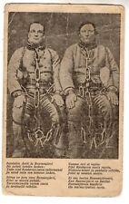 pre 1940 Antique Vintage Original Photo Postcard Criminals Finland Finnish