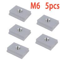 M6/M8 T-track Sliding Slider Nut Aluminum Alloy Slot T Nut For Woodworking Tool