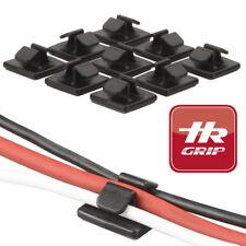 Kit 9X reggi ferma cavo clip porta cavetto organizer cavi cavetti NERO HR-Grip