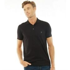 French Connection FCUK Men's Jersey Polo Top T-Shirt - Various Sizes & Colours