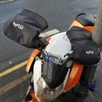 VIPER MOTO UNIVERSAL HANDLE BAR MUFFS WATERPROOF MOTORBIKE SCOOTER QUAD RRP £30