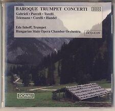 Gabrielli, Purcell, Torelli - Inhoff: Baroque Trumpet Concerti (Donau) Like New