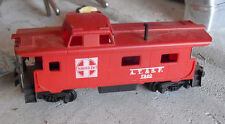 Vintage Ho Scale Santa Fe Atsf 7240 Red Caboose Car
