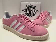 ADIDAS ORIGINALS CAMPUS LIMITED PINK SUEDE VINTAGE CREAM MIDSOLE S77704 sz 9