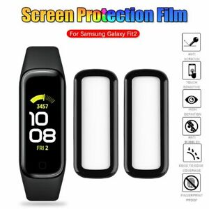 Film Guard Cover Screen Protector Soft Fibre Glass For Samsung Galaxy Fit2