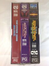 Star Trek Collectors Edition 2 vhs New Sealed Box set