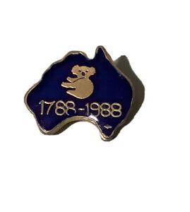 Bicentennial 1788-1988 Badge / Pin - Very Good Condition - Koala Australia Made