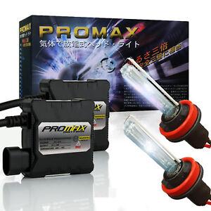 Promax HID Xenon Conversion Kit Headlight Fog Light H4 H7 H10 H11 H13 9006 9007