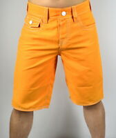 True Religion Men's 5 Pockets Big T Contrast Surf Board Swim Shorts - 100551
